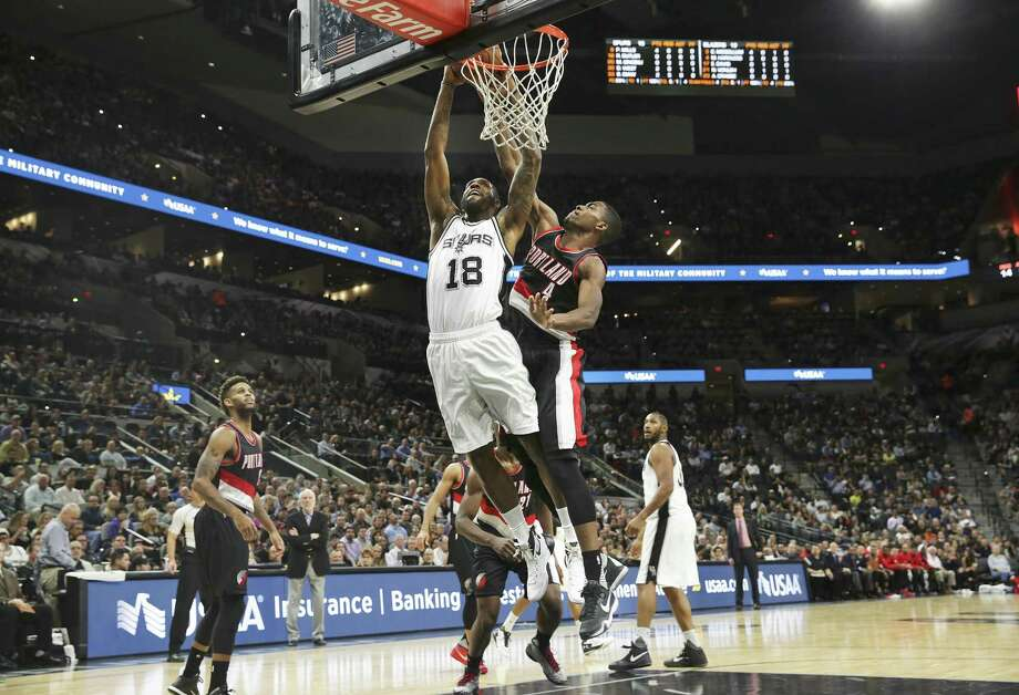 The late Rasual Butler made his mark during a short Spurs stint. Photo: Tom Reel / San Antonio Express-News / 2015 SAN ANTONIO EXPRESS-NEWS