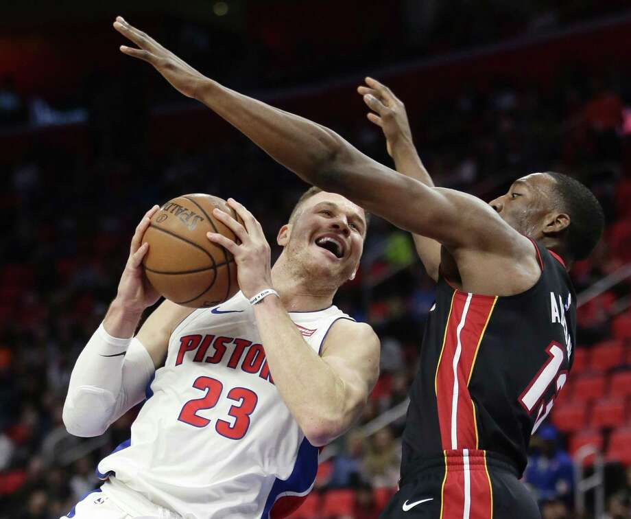 Former L.A. Clippers forward Blake Griffin now plays for Detroit. Photo: Duane Burleson /Associated Press / FR38952 AP