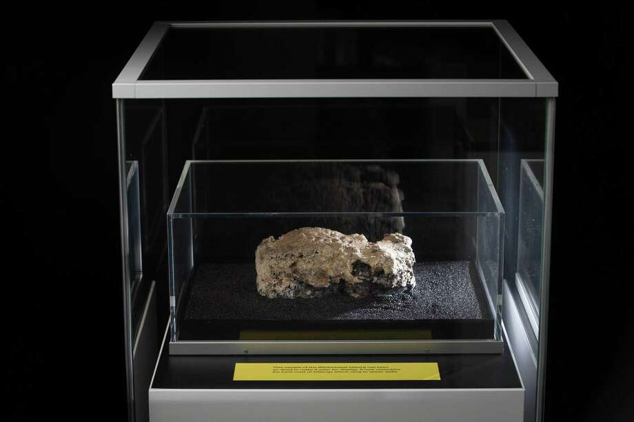 The last remaining piece of a monster London fatberg went display Friday at the Museum of London. It was discovered in Whitechapel sewers in September. Photo: Photo By David Parry Courtesy Of Museum Of London / Copyright, Museum of London
