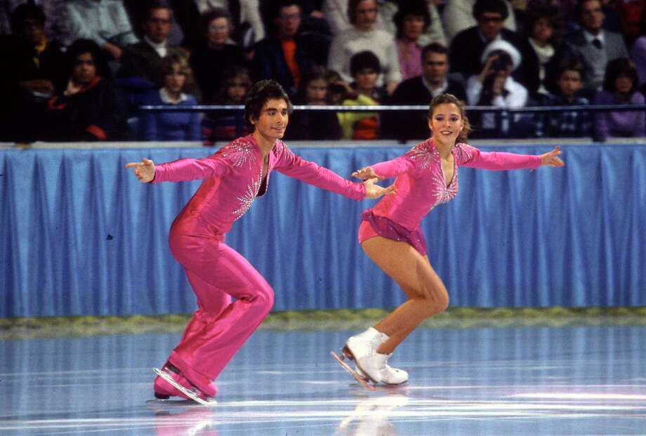 Figure skaters Tai Babilonia and Randy Gardner always took the ice in classic and elegant costumes.  Photo: (Photo By Focus On Sport/Getty Images), Contributor / 1981 Focus on Sport