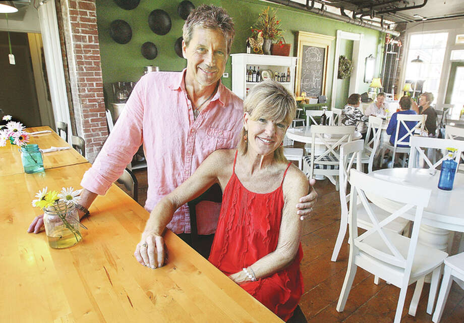 Glenn and Terri Beaubien are the new owners of State Street Market at 208 State Street in downtown Alton. The couple offers a European-style cafe and market and is easy to find near the foot of State Street. Photo: John Badman   The Telegraph