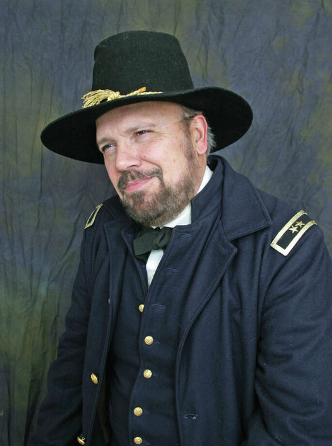U. S. Grant impersonator Dan Haughey will appear as part of Hayner Library's summer special events on Aug. 11 at 225 Alton Square Mall.
