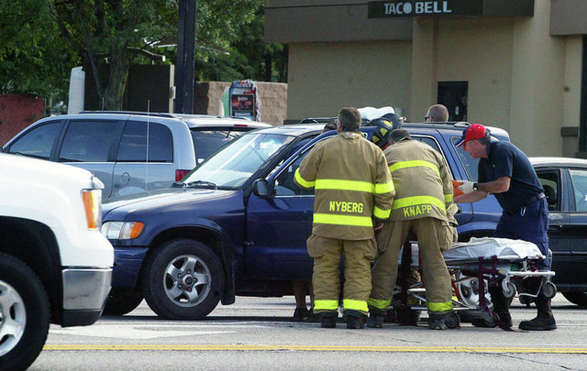 One person was injured following a two-vehicle accident about 4:33 p.m. Thursday at the intersection of Morton Avenue and Diamond Street. Lola J. Dahl, 65, of Jacksonville was transported to Passavant Area Hospital where she was treated and released following the accident. Joni L. Frisch, 61, of 891 Lynnville-Woodson Road, was cited for following too closely. No other injuries were reported.