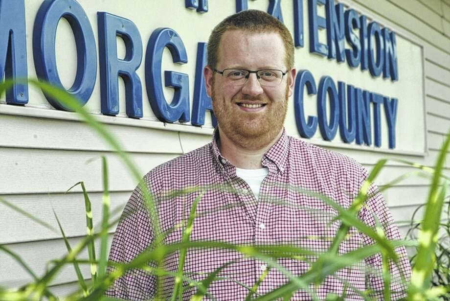 Ken Johnson has been the horticulture educator at the University of Illinois Extension Office that serves Calhoun, Cass, Greene, Morgan and Scott counties since 2013. Photo: Greg Olson | Journal-Courier