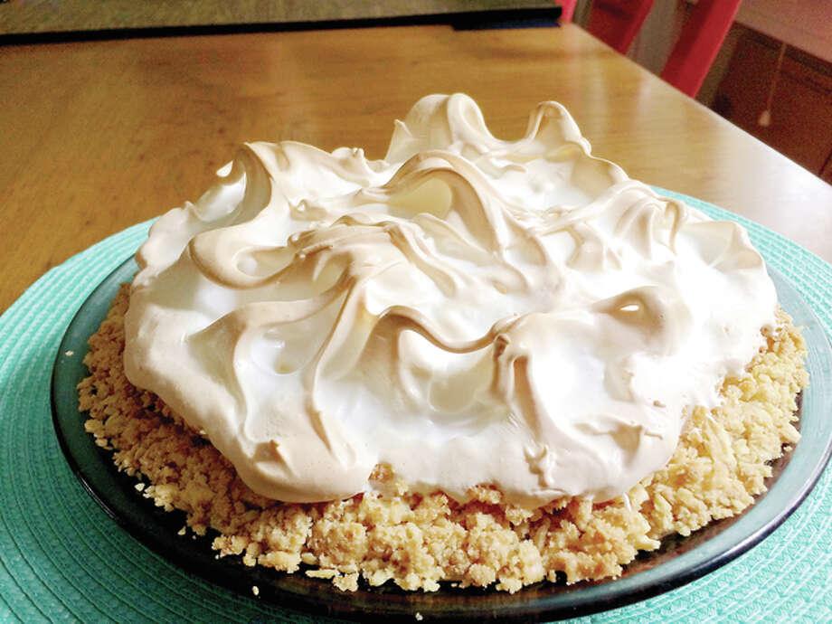 Atlantic Beach Pie has a creamy lemon filling in a salty, buttery, crunchy crust. Photo: Marlene Parrish | Pittsburgh Post-Gazette | TNS