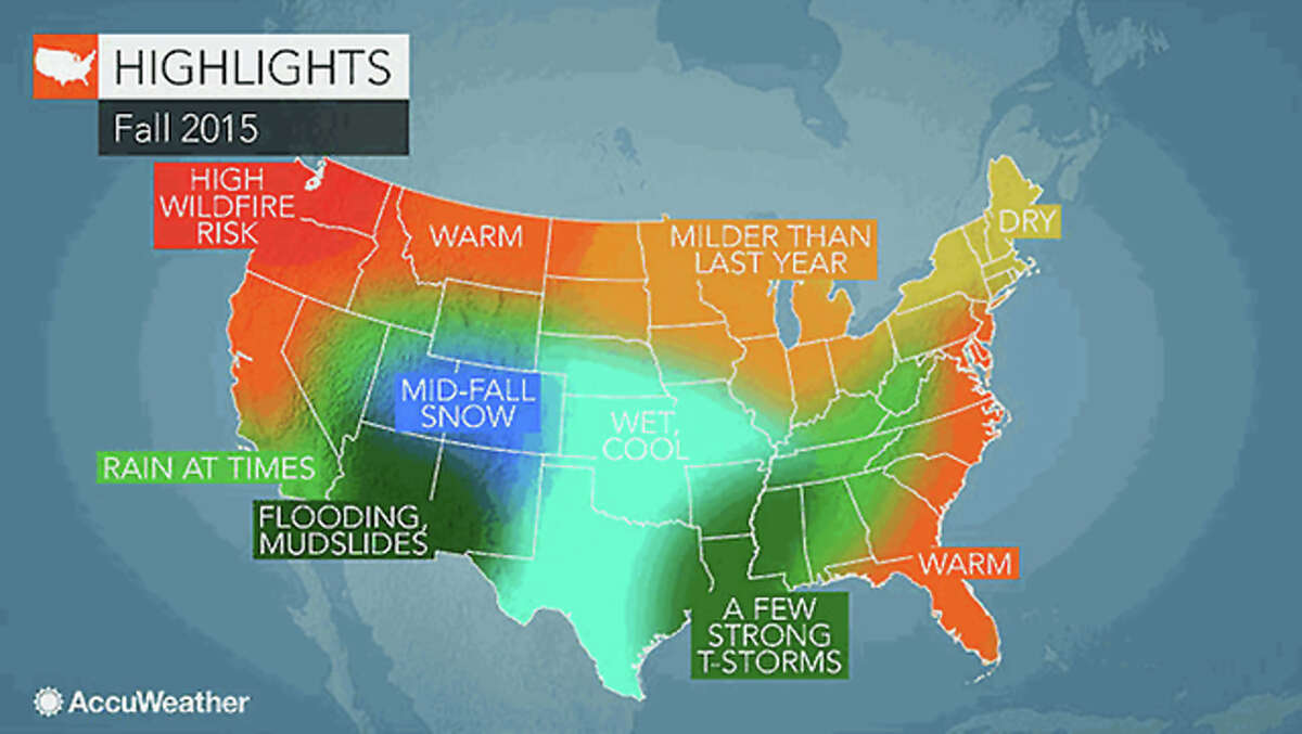 AccuWeather West-central Illinois is likely to see wet, cooler weather in the fall, according to long-range forecasts by AccuWeather weather service. The region could see its first frost of the season as early as the second or third week of September, forecasters