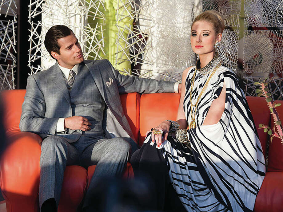 Henry Cavill and Elizabeth Debicki in The Man from U.N.C.L.E. Daniel Smith; Warner Bros. | For The Telegraph Photo: Daniel Smith; Warner Bros. | For The Telegraph