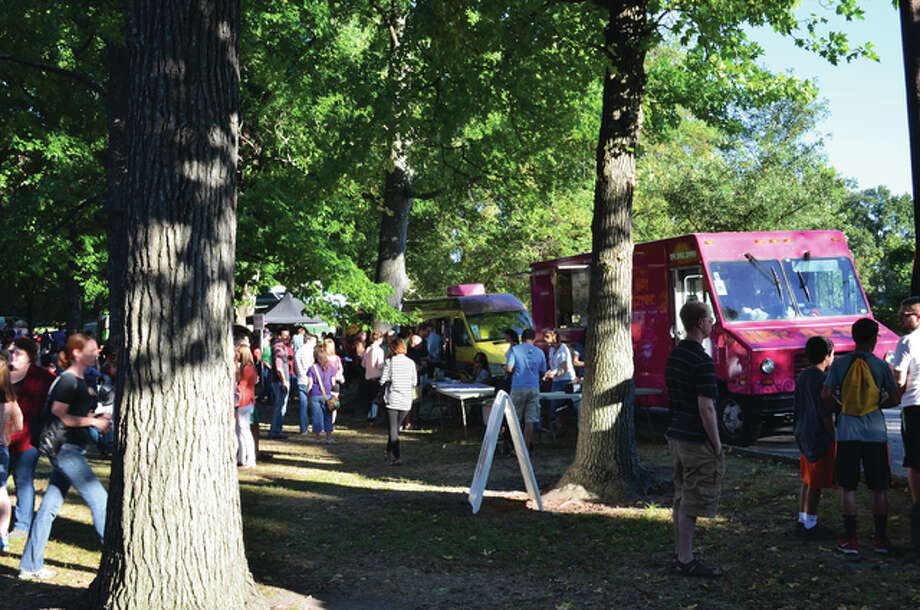 Since May of 2011, when Sauce Food Truck Fridays began, it has hosted 27 food truck festivals, which run May through October on the second Friday of each month from 4 to 8 p.m. at Tower Grove Park, pictured, in St. Louis.