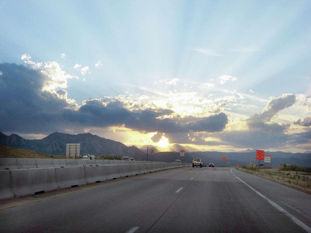 Gary Glaenzer | Reader photo Reader Gary Glaenzer caught this view as he was driving near Boulder, Colorado.
