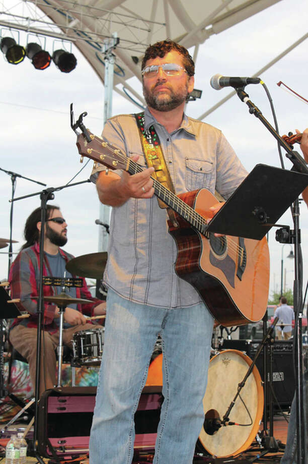 """Matt Taul, pictured, of new Alton """"supergroup"""" Matt Taul and Friends will play Jacoby Friday Nites LIVE Aug. 14. Photo: For The Telegraph"""