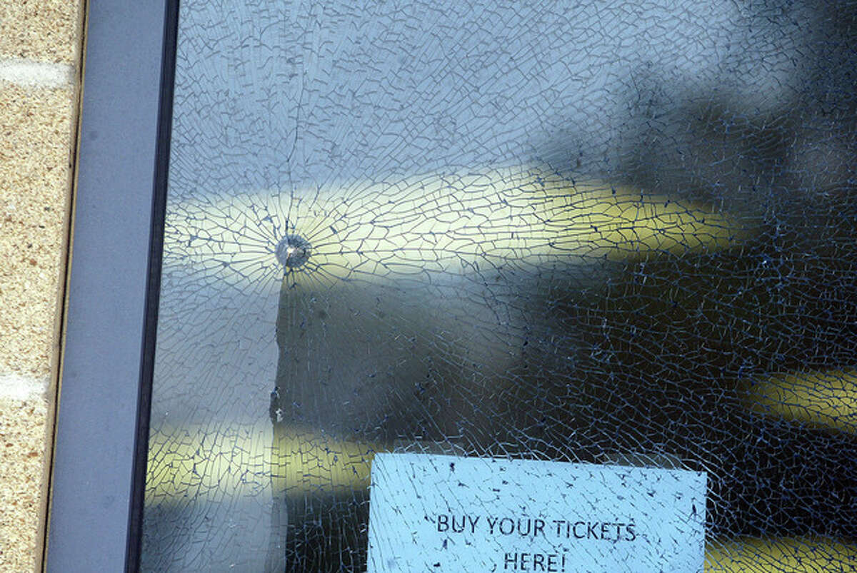 A window at was The Medicine Shoppe was shot at about 3:24 p.m. Wednesday with a BB gun. No injuries were reported and the incident is under investigation.