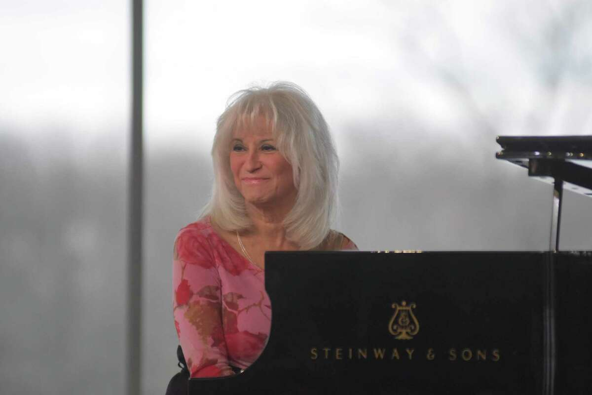 Jazz pianist Joyce DiCamillo plays a benefit concert with her trio on Sunday in Stamford.