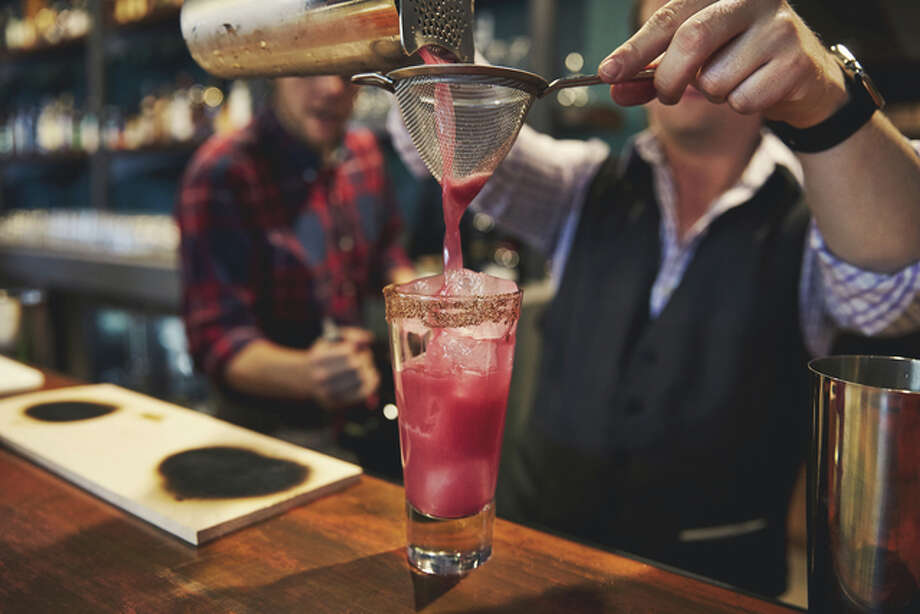 Hotel Vandivort's destination restaurant and bar, The Order, emphasizes the craft cocktail side of the bar. Angel's Envy's Brand Ambassador Corey Jernigan worked with the bar staff to create 30, 40 or so items. Photo: For The Telegraph