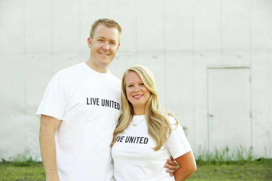 Rep. C.D. Davidsmeyer and his wife, Kristen, are the 2015 Prairieland United Way campaign co-chairs. Photo: Photo Submitted