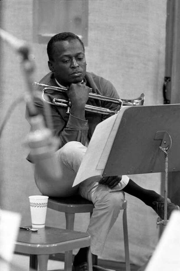 Miles Davis in rehearsal, circa 1960. Photo: Don Hunstein | For The Telegraph