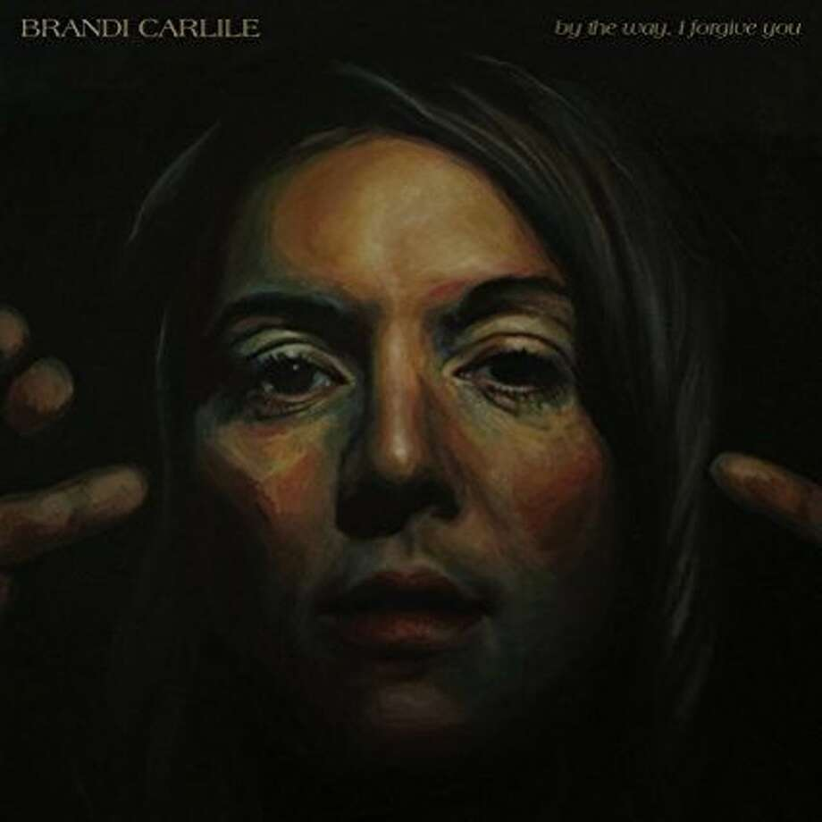 "cd cover: Brandi Carlile, ""By the Way, I Forgive You"" Photo: Elektra"