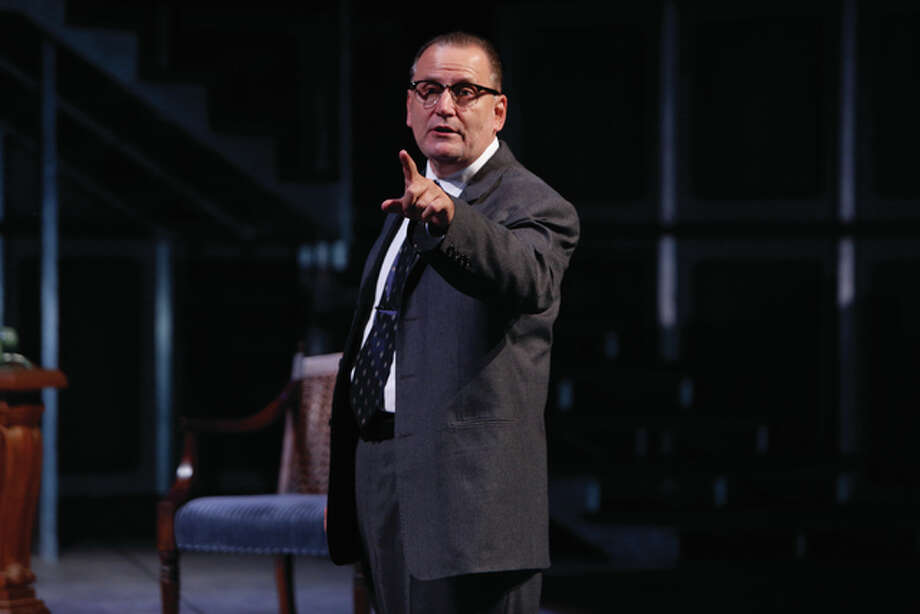 """Brian Dykstra as Lyndon B. Johnson in the Repertory Theatre of St. Louis' production of """"All the Way"""" at the Loretto-Hilton Center on the campus of Webster University in Webster Groves, Mo. The production runs through Sunday, Oct. 4. Photo: Jerry Naunheim Jr. 