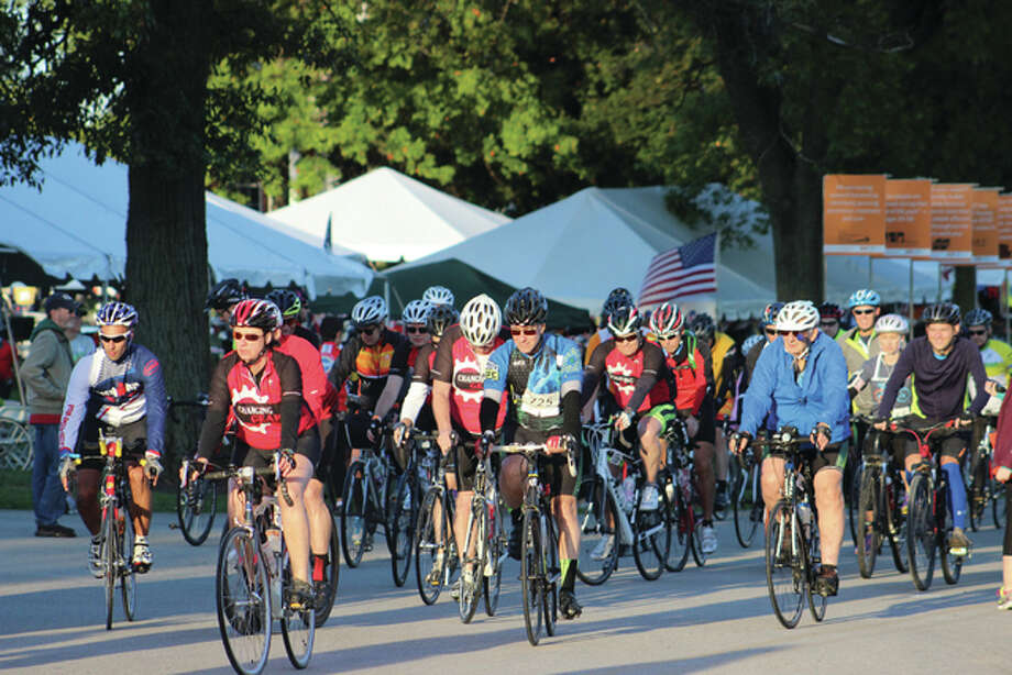 Bike MS is the largest cycling series in the world and one of the top 10 such events in the country, both in size and in dollars raised, Bike MS Chapter President Rebecca Fehlig said. Bike MS, Lewis and Clark Community College and the village of Godfrey planned the event for a year with a fundraising goal of $2.2 million. All three entities anticipate the return of the event next year at the same venue.
