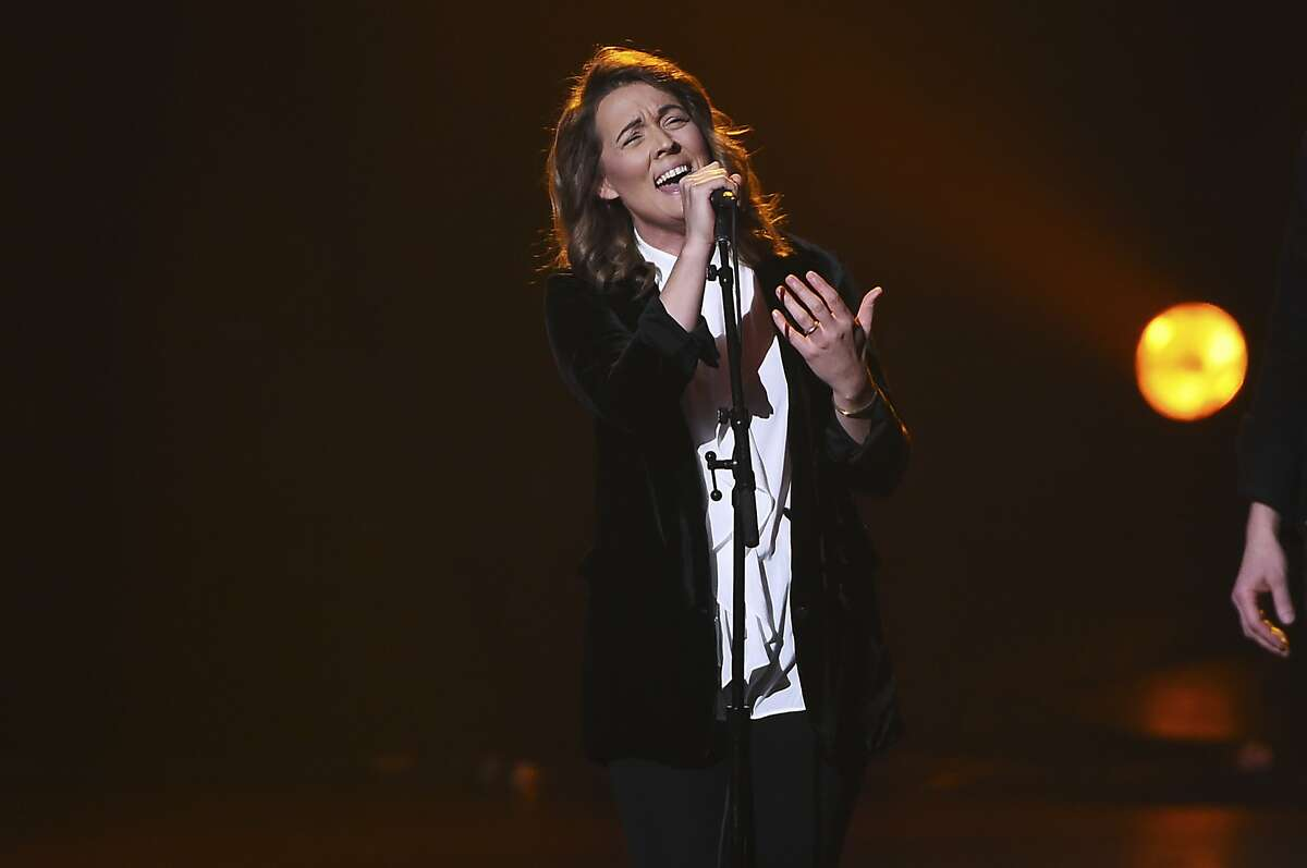 Brandi Carlile performs onstage at the 2018 MusiCares Person of the Year tribute honoring Fleetwood Mac at the Radio City Music Hall on Friday, Jan. 26, 2018, in New York. (Photo by Evan Agostini/Invision/AP)