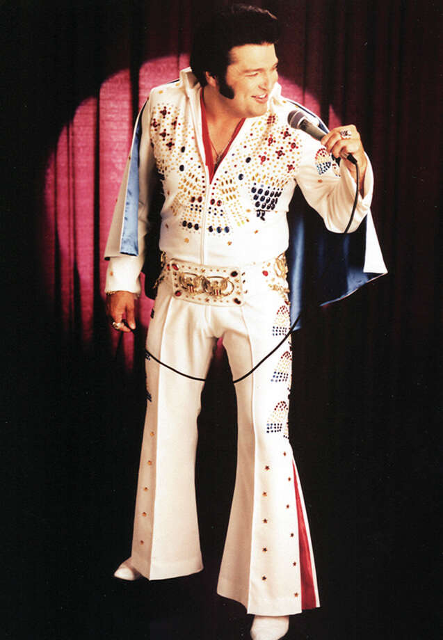 """Steve """"Elvis"""" Davis has portrayed """"The King"""" for nearly 30 years, averaging more than 400 shows annually. Extensive research and close attention to detail are hallmarks of his performances. Photo: For The Telegraph"""