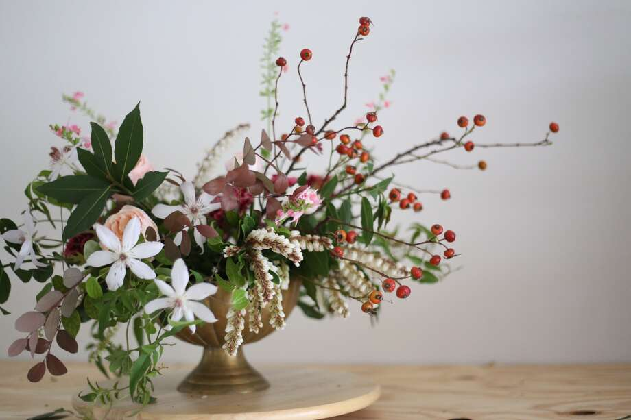 Mix it up on valentine s day with a floral arrangement