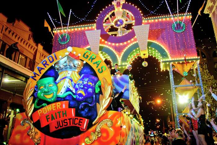Soak in the festivities of the 107th edition of Mardi Gras Galveston this weekend along on The Strand.