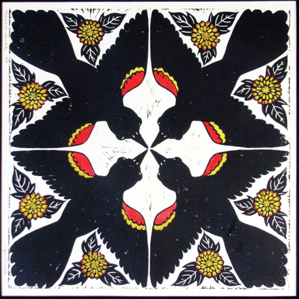 Blackbird Mandala, by Joan Tweedell