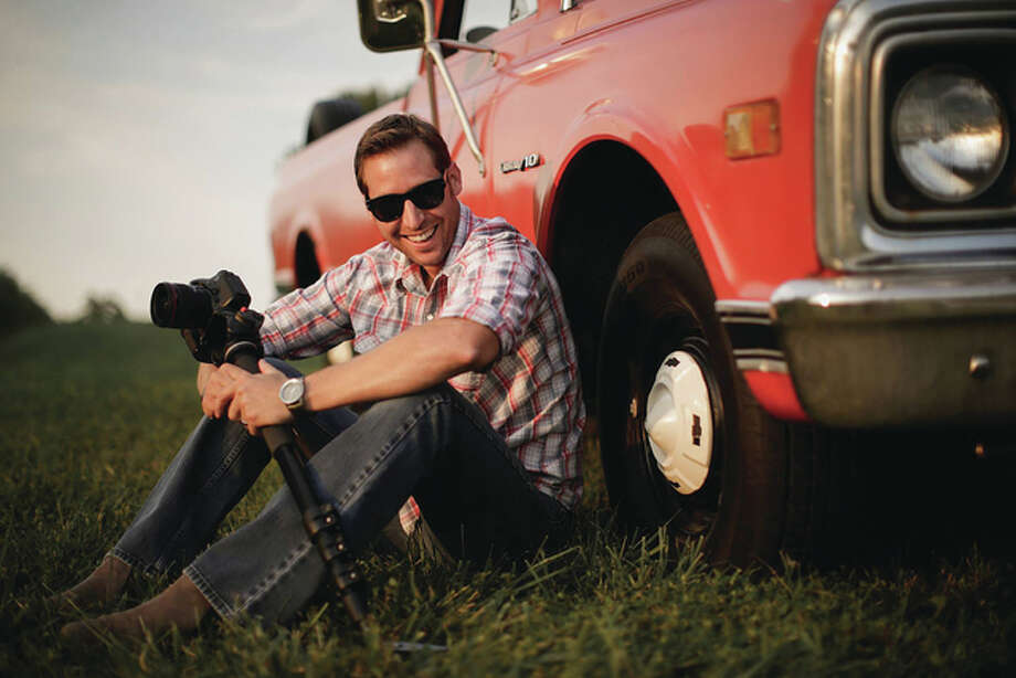 After 10 years in the hotel industry, Alton native Ryan Hanlon started Route 3 Films, a video production company that specializes in helping others. For The Telegraph