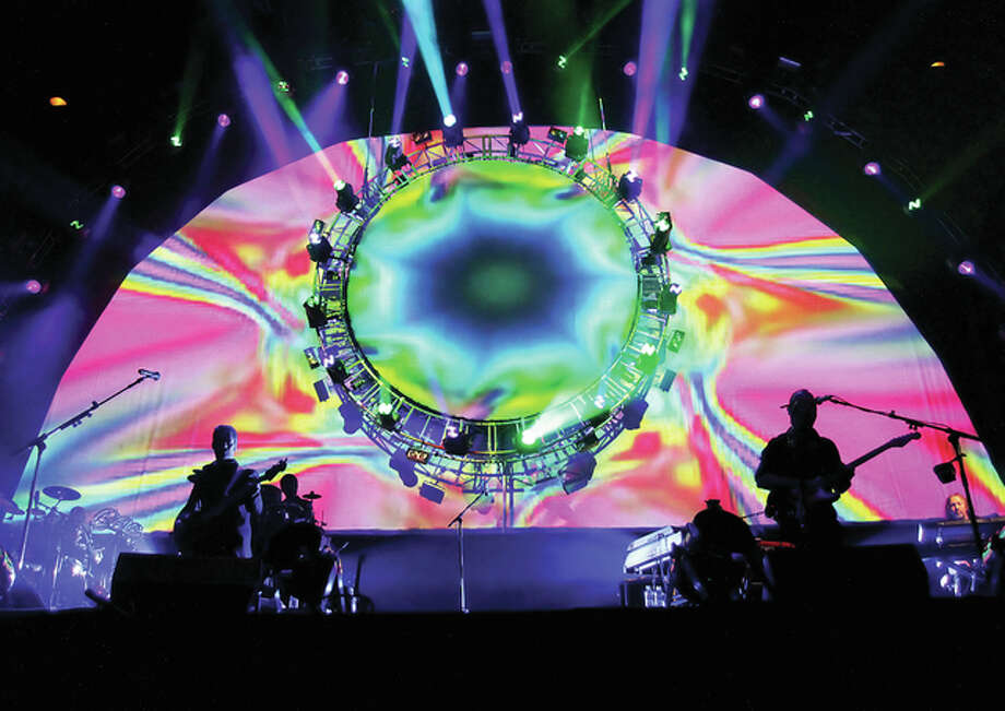 The Pink Floyd tribute band Brit Floyd performs at Liverpool Echo Arena. The band will perform Wednesday at the University of Illinois Springfield's Sangamon Auditorium. Photo: Submitted Photo