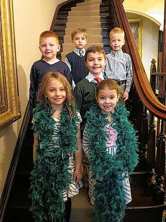 These children will participate in this year's Beaux Arts Ball as flower girls and pages. In front are Millie Grace Schumacher and Lillie Evelyn Adeline Brown. In back are Andrew Darrin Seymour, Parker Jackson Henry, Jett Morrisey and Lennox Porter Davidsmeyer. Not pictured are Finley Anne York, Benjamin Jacob Meyer and Gabriel John Pratt.