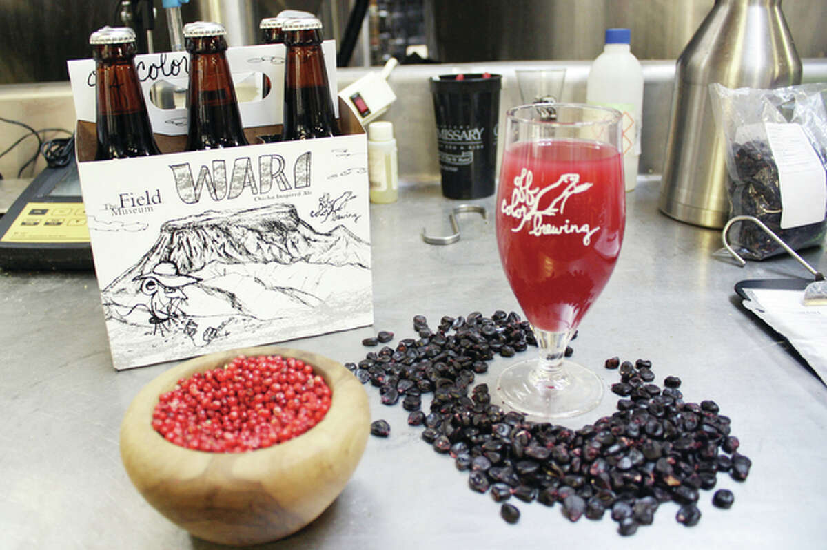 This special-issue beer at the Field Museum in Chicago is made with Peruvian pepper berries and purple corn. Brewers in the recent craft-beer booms have turned to ancient civilizations' obscure, millennia-old recipes to set themselves apart.
