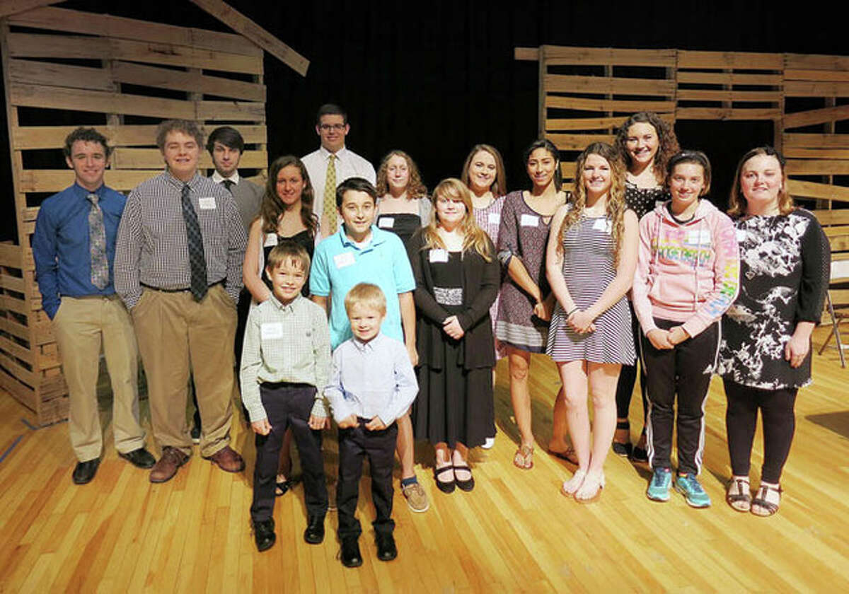 Photo provided Twenty-nine students were honored this week for their volunteer service during 2015. More than 6,000 hours of service were provided last year by the students at a variety of businesses, churches and organizations.