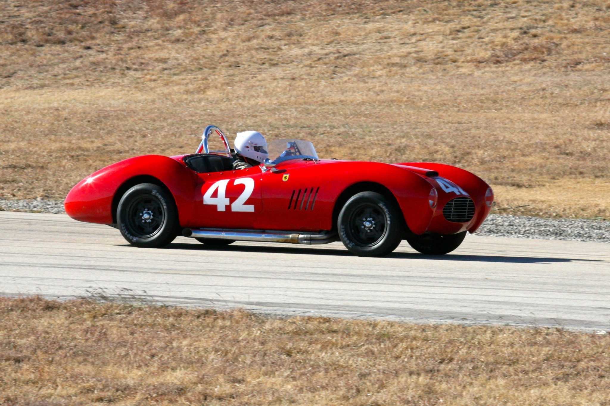 Corinthian Vintage Auto Racing Club brings the rumble of vintage cars to the race track