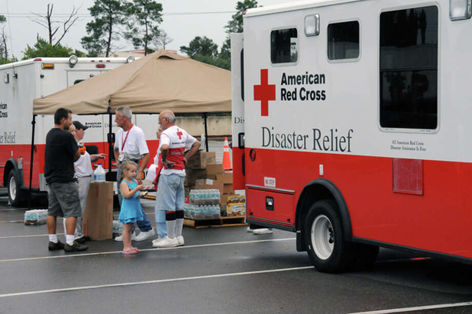 George Armstrong | FEMA Last year, the American Red Cross assisted 349 families in the region after a disaster, most of which were home fires. Red Cross volunteers provide disaster assistance including shelter, food and health and mental health services.