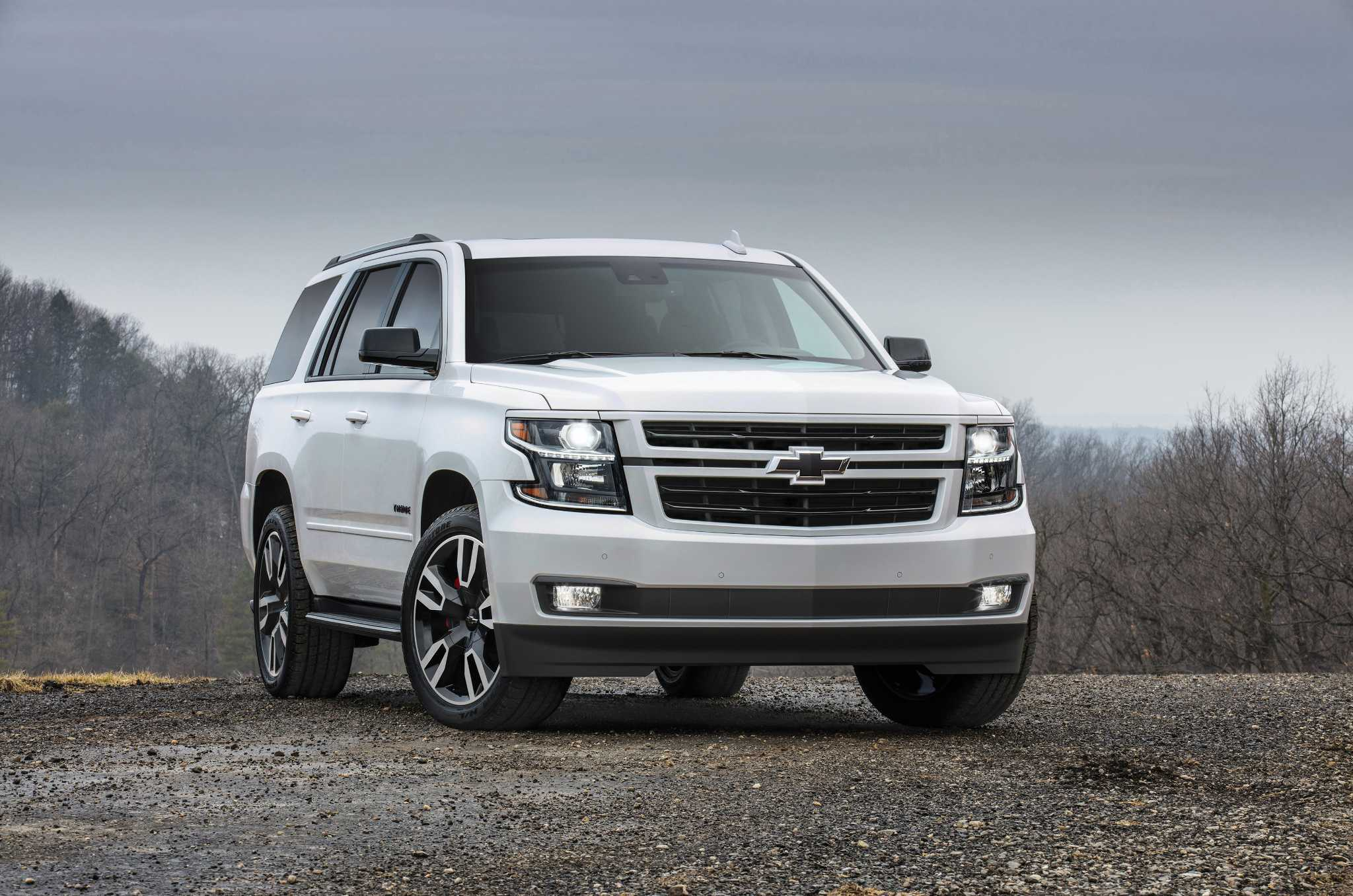 Fortified Tahoe: Chevy finally offers 6.2-liter V8 in its star SUV