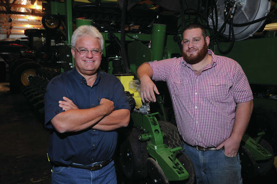 Andy and Cody Mason. Photo: David Blanchette   Journal-Courier
