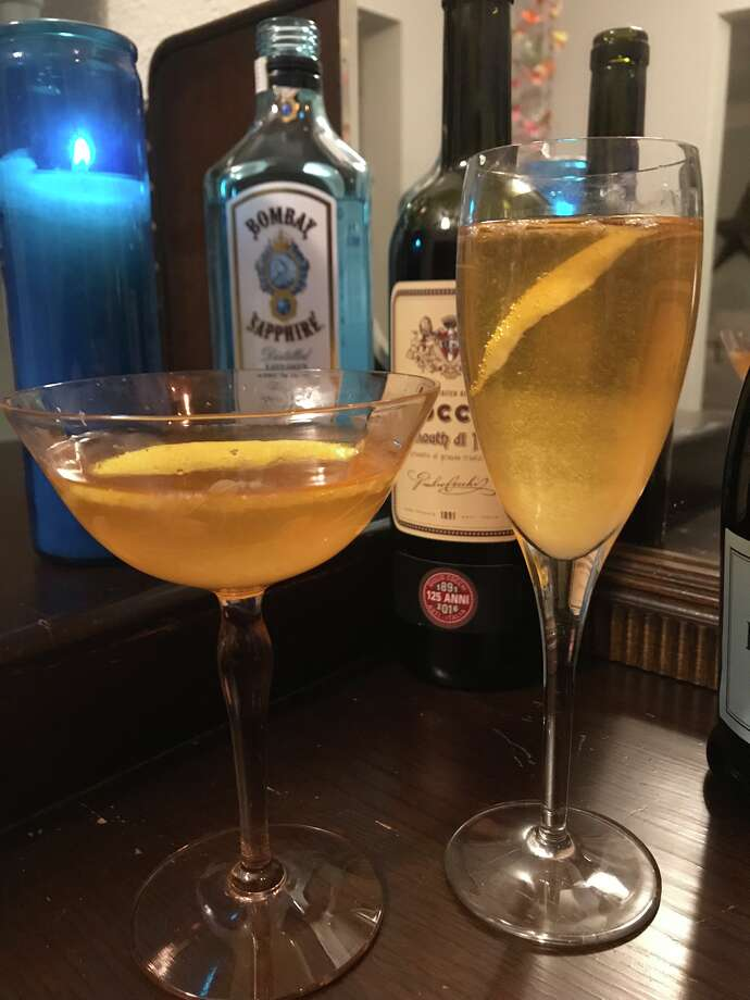 The Italian Marriage combines Italian sweet vermouth, gin, prosecco and lemon juice for a slightly bitter cocktail that is a whole lot of fun. Photo: Emily Spicer, San Antonio Express-News