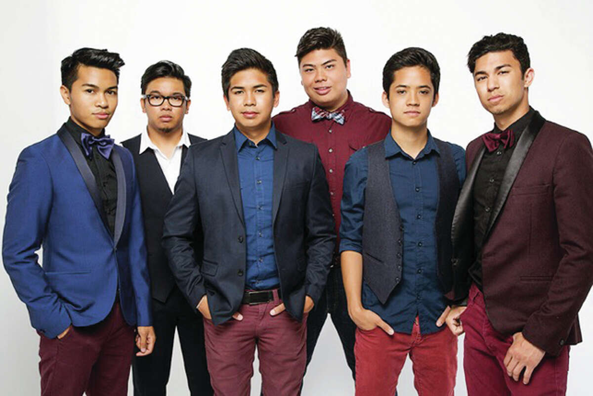 The a cappella group The Filharmonic - featuring members V.J. Rosales, Joe Caigoy, Trace Gaynor, Barry Fortgang, Jules Cruz and Niko Del Rey - will be in concert at 8 p.m. Friday at Illinois College's Rammelkamp Chapel. The group has participated on the NBC musical competition