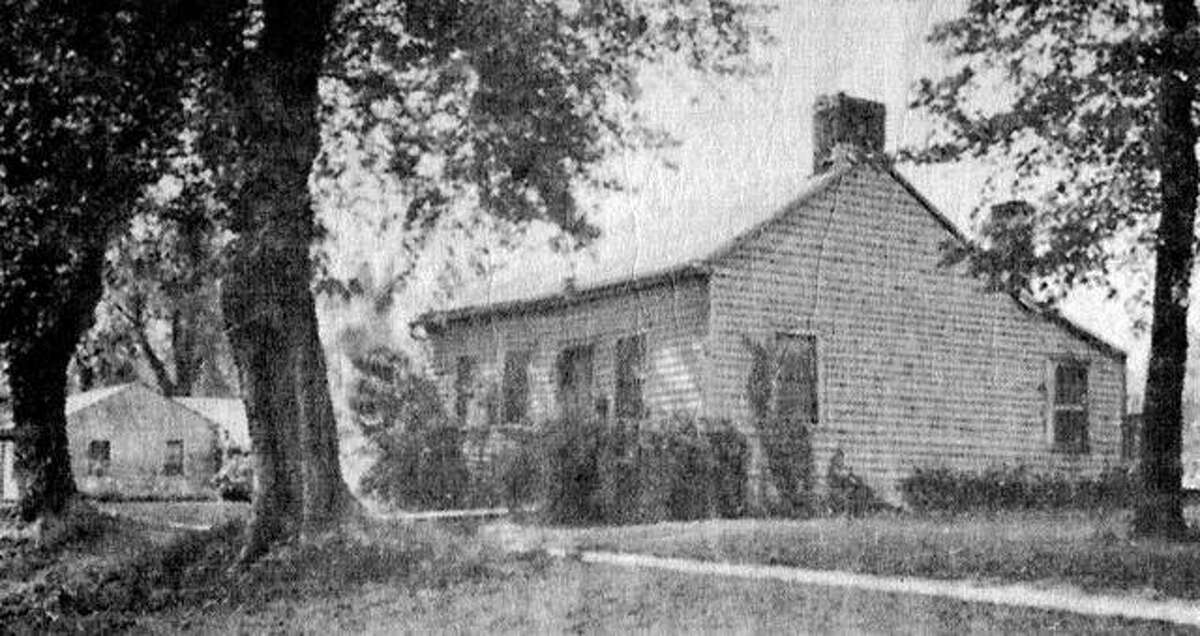 The historic Shastid House in Pittsfield in 1938. The house is listed in the National Register of Historic Places.