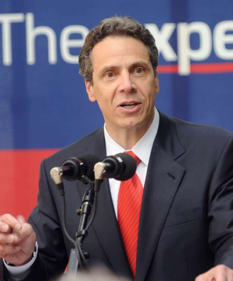 Democratic gubernatorial nominee Andrew Cuomo is embracing the Independence Party endorsement, but is looking away from the Working Families Party for now. Photo: Louis Lanzano / FR77522 AP
