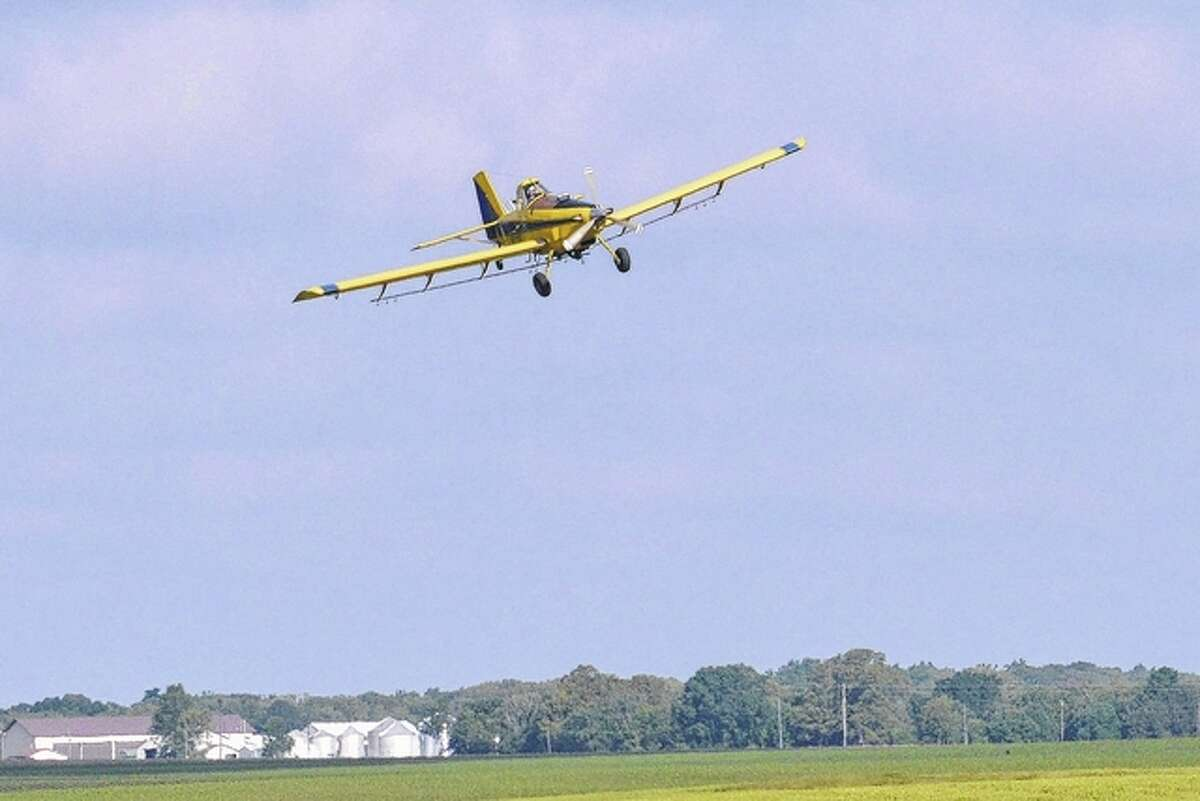 Cover crops can be seeded by air in many cases.