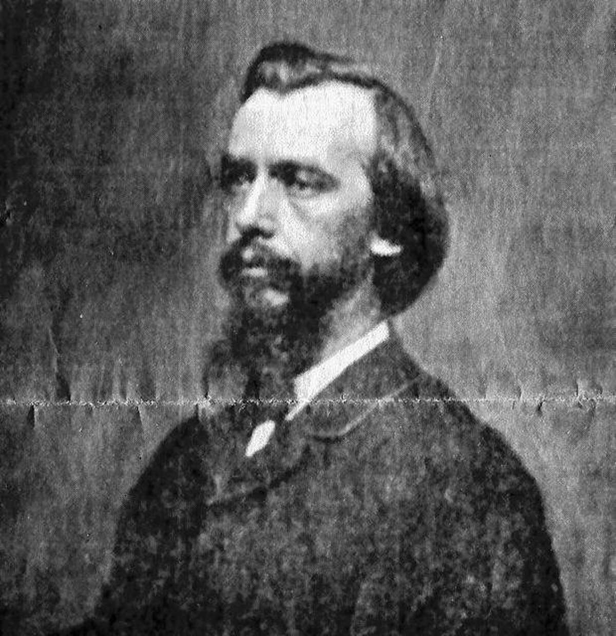 John George Nicolay (1832-1901), a former Pittsfield newspaper owner, served as one of President Abraham Lincoln's private secretaries. This undated photograph of Nicolay was most likely taken during the Civil War.
