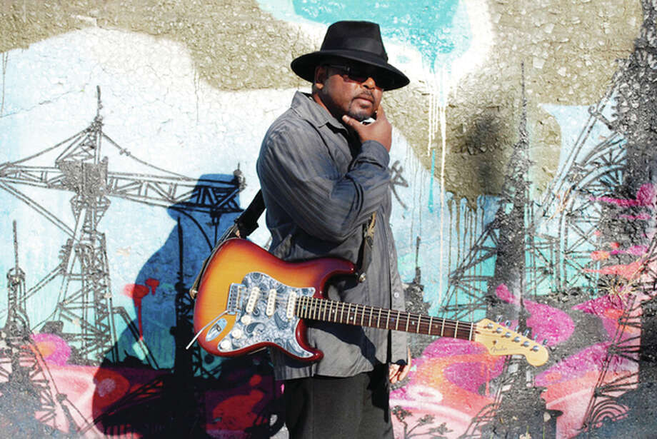 Musician David Gerald will offer up his brand of the blues Friday during Jacksonville Main Street's Levitt AMP Jacksonville Music Series. The concert begins at 7 p.m. on the downtown square. Photo: Handout Photo