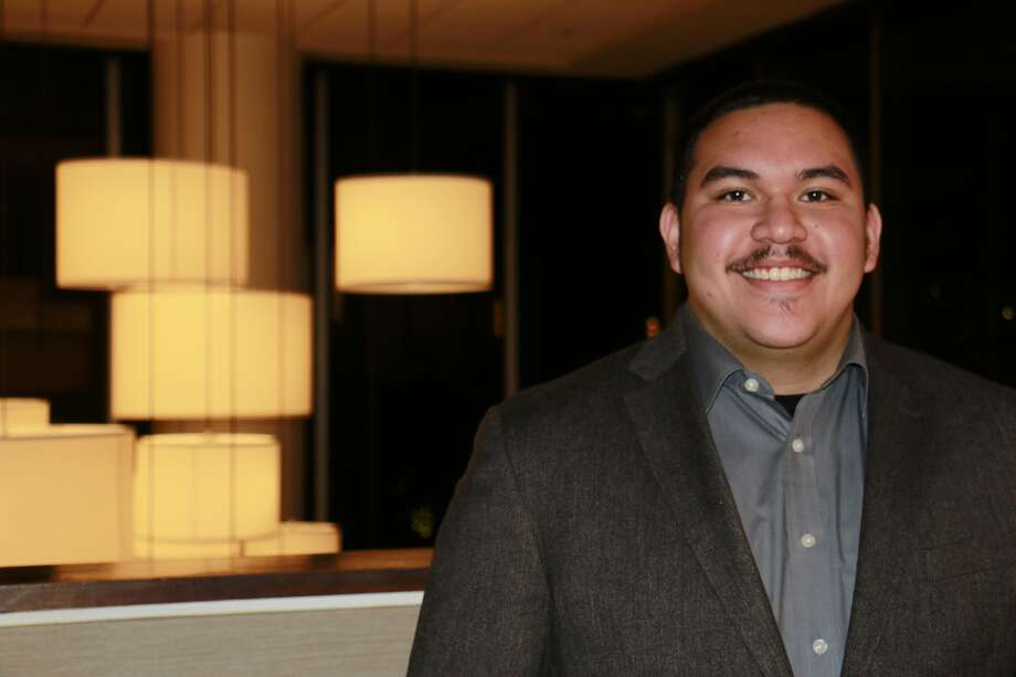 Four-year scholarship recipient Adrian Izaguirre is part of the Houston Livestock Show and Rodeo's volunteer Alumni Task Force. Photo: Houston Livestock Show And Rodeo