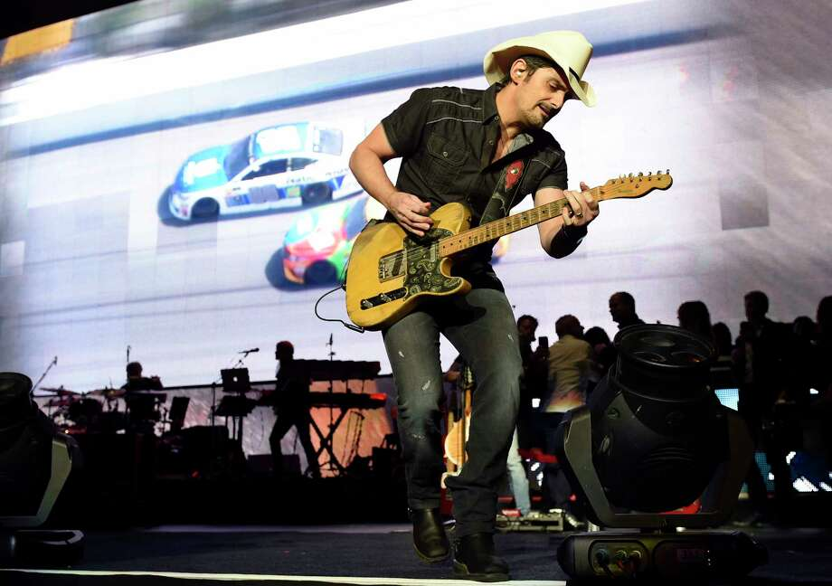 Brad Paisley performs during his Weekend Warrior World Tour stop at Staples Center on Thursday, Jan. 25, 2018, in Los Angeles. (Photo by Chris Pizzello/Invision/AP) Photo: Chris Pizzello, INVL / 2018 Invision
