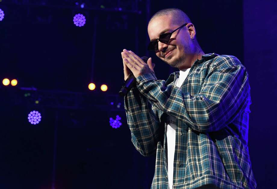 LOS ANGELES, CA - JANUARY 20:  J. Balvin performs onstage during Calibash Los Angeles 2018 at Staples Center on January 20, 2018 in Los Angeles, California.  (Photo by Kevin Winter/Getty Images) Photo: Kevin Winter, Staff / 2018 Getty Images