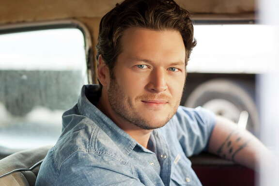 Blake Shelton performs at the Houston Livestock Show and Rodeo on March 1.