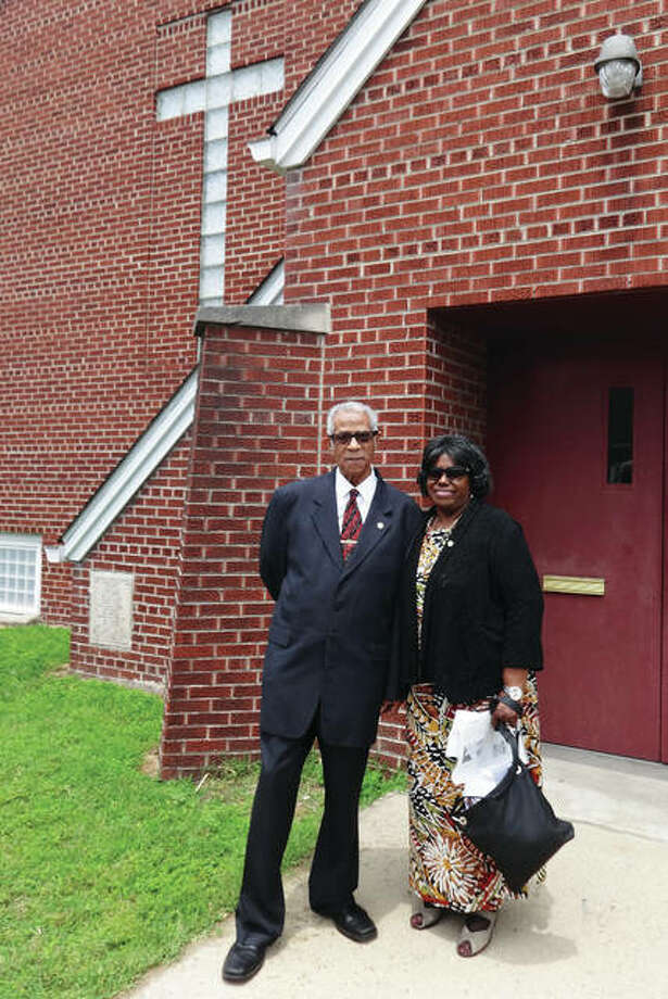 Rev. John Q. Owens Jr., 91, and his wife, Dorothy Owens, of Maryville, Illinois, attend Bethel AME Church, Madison, Illinois, from where Rev. Owens retired; he also led Campbell Chapel AME Church in Alton, Illinois, for nine years. The Owenses both are doctors of philosophy in their fields. Dorothy Owens is an educator who retired from Southwestern Illinois College (SWIC) as a counselor and was an English teacher for the Alton school district for 11 years prior to a counseling career at SWIC. The couple also founded Metro Area Professional Organization (MAPO) seven years ago. Photo: Jill Moon/The Telegraph