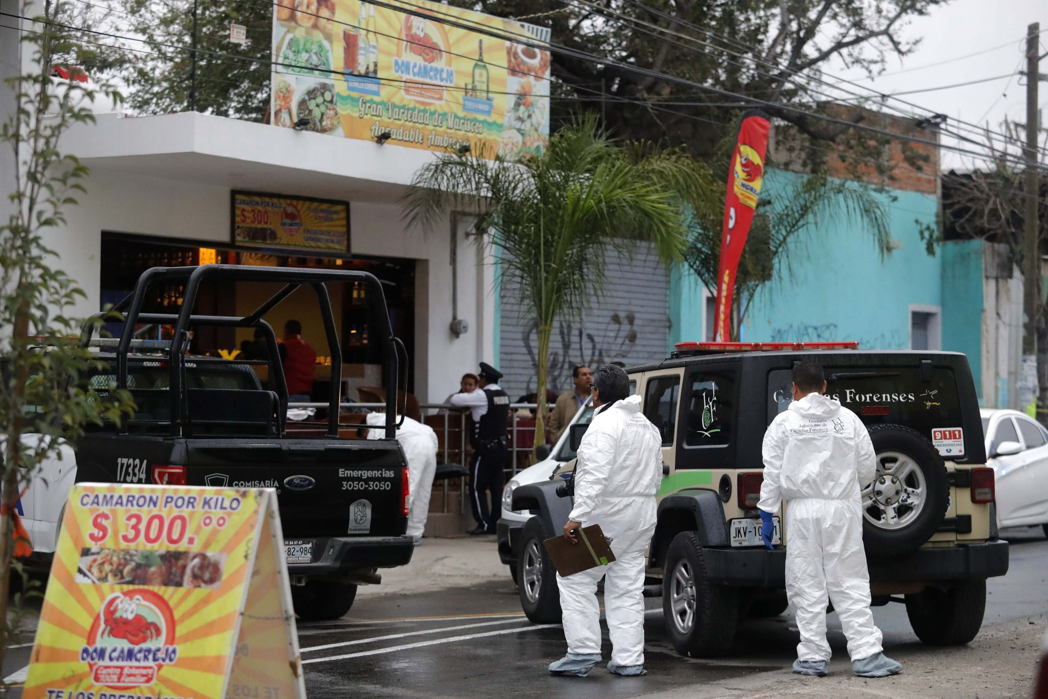 Deadly cartel power struggle continues in Mexico as 7