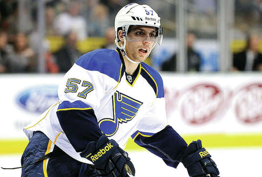 The Blues' David Perron is on his way to the expansion Vegas Golden Knights after being selected in Wednesday's NHL expansion draft. Photo: AP